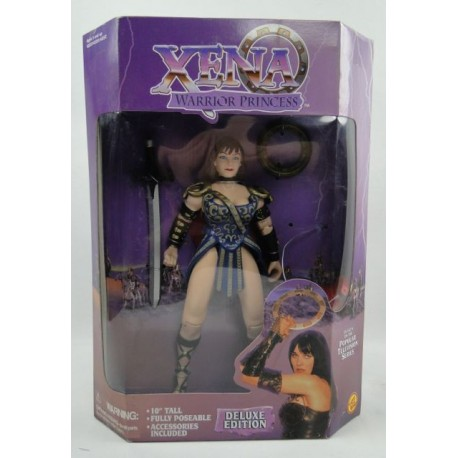 "Xena Warrior Princess 10"" Deluxe figure MIB asis ToyBiz 1996"