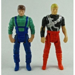Matt Tracker + Jacques LaFleur EURO PAINT figures 2-pack