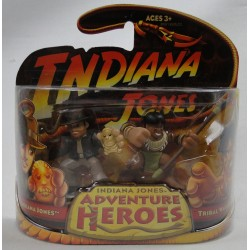 Indiana Jones and Tribal Warrior MOC Adventure Heroes