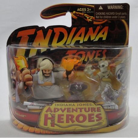 Sallah and Mummy MOC Indiana Jones Adventure Heroes