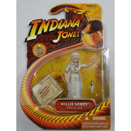 Willie Scott MOC - Indiana Jones - Hasbro 2008 - Temple of Doom