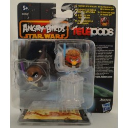 Mace Windu and Anakin Skywalker MOC - Star Wars Angry Birds Telepods