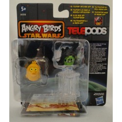 C-3PO and Darth Sidious MOC - Star Wars Angry Birds Telepods