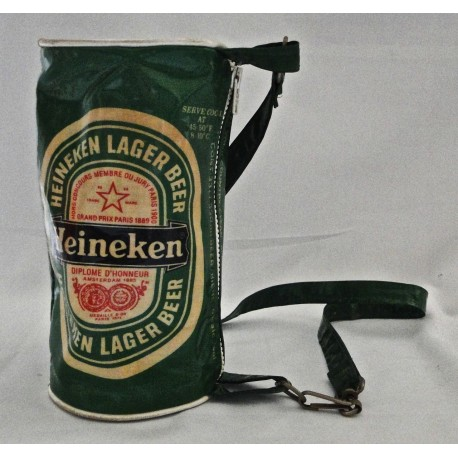 original Heineken Bag 70s working zipper