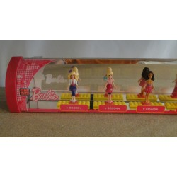 Barbie Line-up SHOP DISPLAY MEGA BLOCKS mini figures