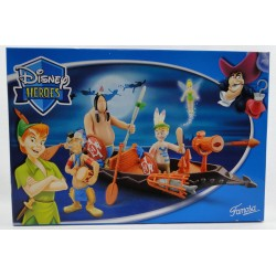 Indian Boat MIB - Peter Pan Disney Heroes