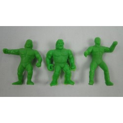 3x mini WWF vending machine wrestlers Green