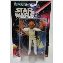 Admiral Ackbar Bend-Ems with Trading Card MOC - Star Wars