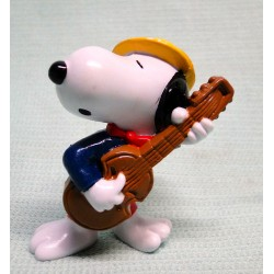 Snoopy Speelt gitaar