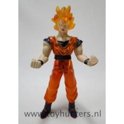 S. Saiyan Goku loose ENERY GLOW figure - DBZ 2000 Irwin asis