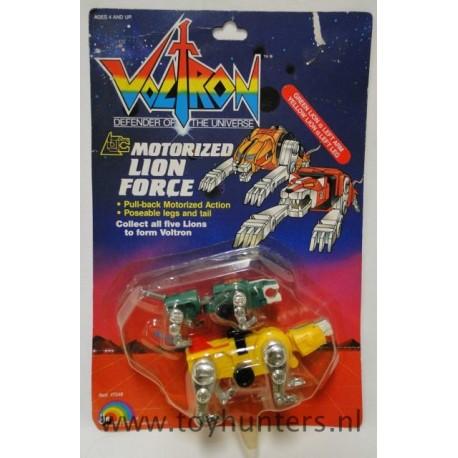 Motorized Lion Force MOC - Voltron - Ljn 1984