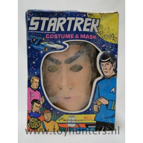 vtg Dr. Spock halloween Costume - BEN COOPER 1975