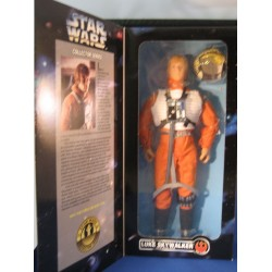 Luke Skywalker in X-wing Gear 12 inch MIB US - Star Wars Kenner POTF