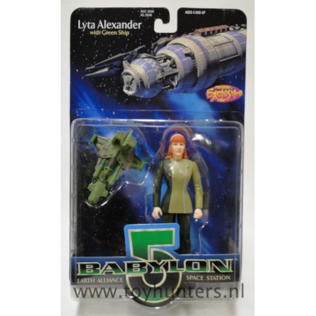 Lyta Alexander MOC - Babylon 5 - Preview Exclusive