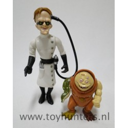 Dr. Karbunkle with Fred the Mutant loose - Biker Mice from Mars - Galoob 1993