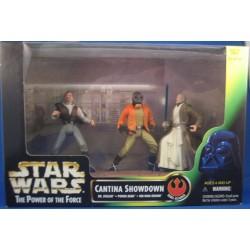 Cantina Showdown - Dr. Evazan, Ponda Baba, Obi-Wan Kenobi MIB US - Star Wars Kenner POTF