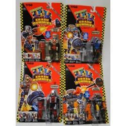 Complete set 4x Junkbots MOC - Piston Head Sideswipe Junkman Jack Hammer Tyco 1992