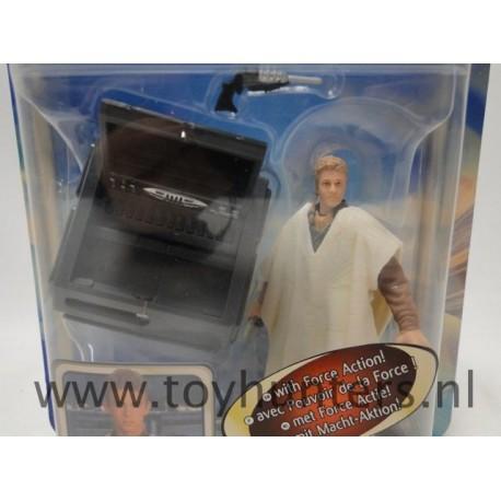 Anakin Skywalker Outland Peasant MOC AOTC Hasbro 2002