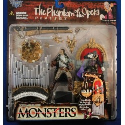 The Phantom of the Opera Playset - Todd McFarlanes Monsters Series 2 MOC MOC Horror McFarlane Toys NEca