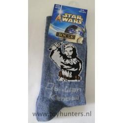 Obi-Wan Kenobi Socks 35-38 EUR 12 1/2-3 1/2 UK 2002