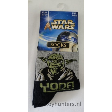 Yoda Socks 23-26 EUR 3 - 5 1/2 UK 2002