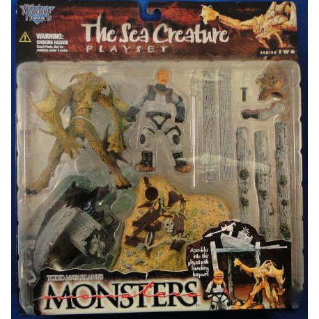 The Sea Creature Playset - Todd McFarlanes Monsters Series 2 MOC MOC Horror McFarlane Toys NEca