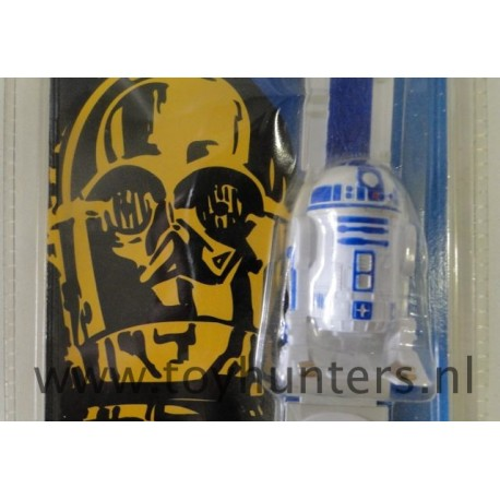 R2-D2 Watch it loose with card NEED BATTERIES