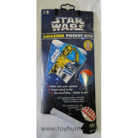 C3PO & R2D2 Amazing Pocket Kite MIP