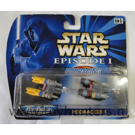 Episode I loose Podracer 1 Micromachines Hasbro 1990 Galoob