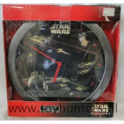Space Battle 3D wall Clock