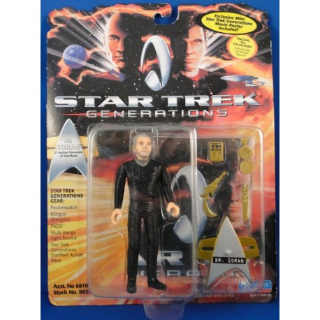 Dr. Soran - Star Trek Generations MOC - Star Trek Science Fiction Playmates