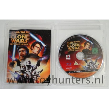 Star Wars the Clone Wars Republic Heroes - PS3