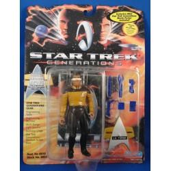 Lieutenant Commander Geordi Laforge - Star Trek Generations MOC - Star Trek Science Fiction Playmates