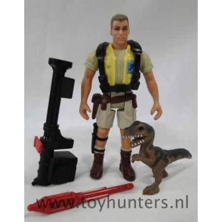 Robert Muldoon loose - Jurassic Park