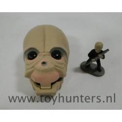 mini head Figrin D'an loose - Star Wars Micro Machines Galoob 1996
