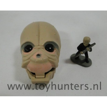mini head Figrin D'an loose - Star Wars Micro Machines Galoob 1996