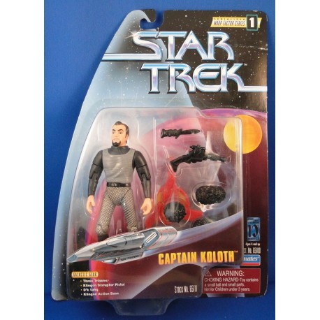 Captain Koloth - Star Trek Warp Factor Series 1 MOC - Star Trek Science Fiction Playmates