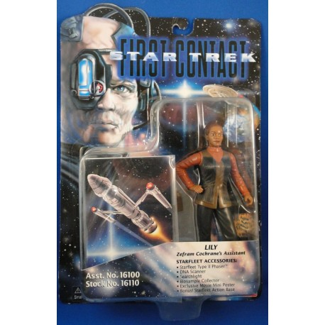 Lily - Star Trek First Contact MOC - Star Trek Science Fiction Playmates