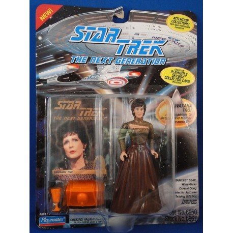Lwaxana Troi - Star Trek The Next Generation MOC - Star Trek Science Fiction Playmates