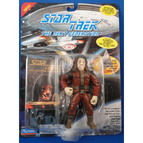 The Nausicaan - Star Trek The Next Generation MOC - Star Trek Science Fiction Playmates