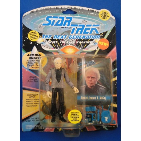 Admiral McCoy Chief Medical Officer Classic Series Returns - Star Trek The Next Generation Science Fiction Playmates