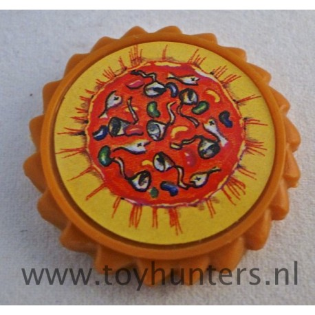 Pizza Disc from Storage Shell Turtles 1991