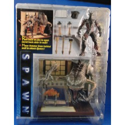 Spawn The Final Battle Playset - Spawn The Movie MOC Horror McFarlane Toys NEca