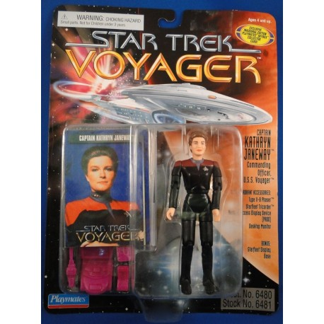Captain Kathryn Janeway - Star Trek Voyager MOC - Star Trek Science Fiction Playmates