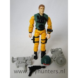 Scoop V1 w/ Helmet Backpack Camera Pistol 1989