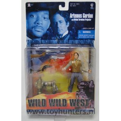 Artemus Gordon w/ Retinal Terminus Projector MOC - Wild Wild West - WB Toys 1999