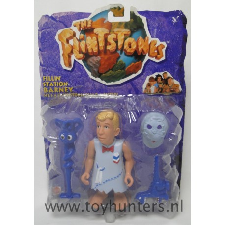 Fillin' Station Barney MOC - The Flintstones Movie - Mattel 1993