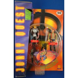 JQ5 - Jungle Commando Dr. Quest and Evil Ezekial MOC