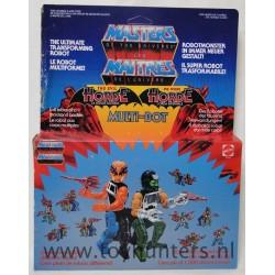 Multi-Bot MIB sealed - Mattel 1985 - Malaysia
