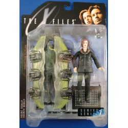 Agent Scully w/ Cryopod Chamber MOC - McFarlane Toys Sci Fiction horror